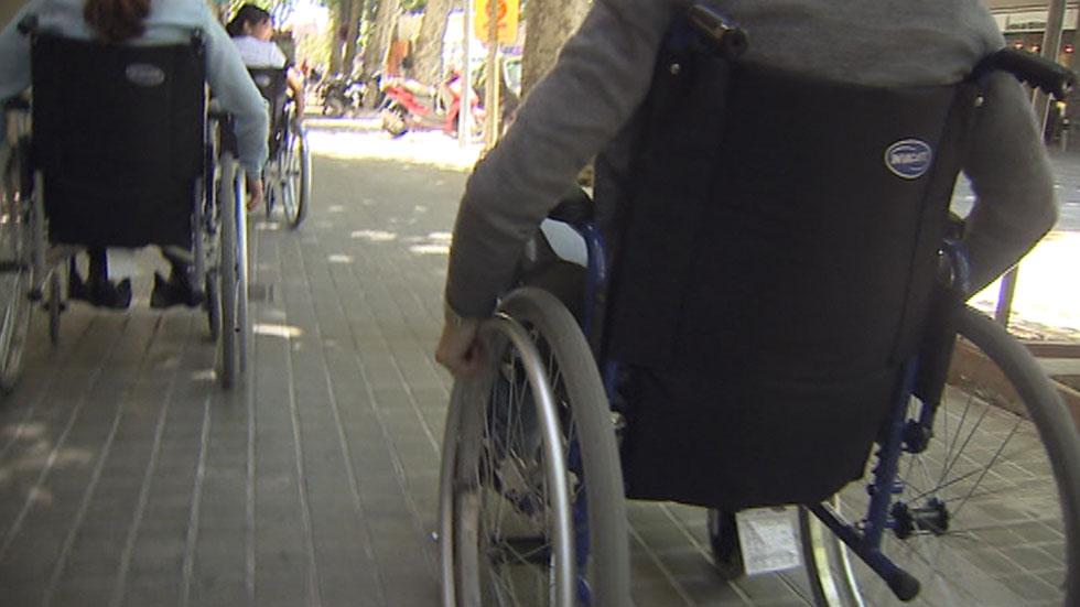 Empresarios experimentan en primera persona los retos diarios que afrontan los discapacitados