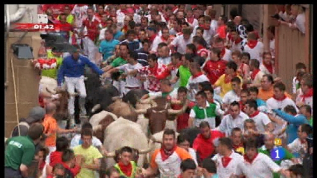 Encierros de San Fermín 2011 - 09/07/11