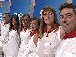 TVE, RNE Y RTVE.ES ofrecen en directo los encierros de San Fermín 2012
