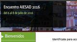 Encuentro AIESAD 2016