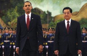Encuentro entre Obama y Hu Jintao