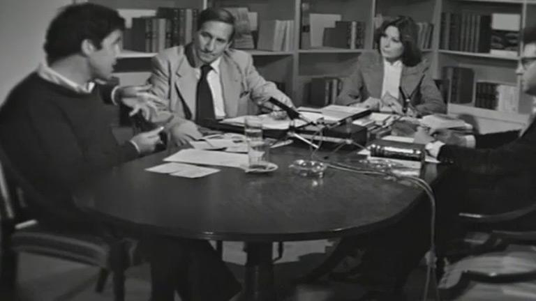 Una edición de 'Encuentros con las letras' (1977)