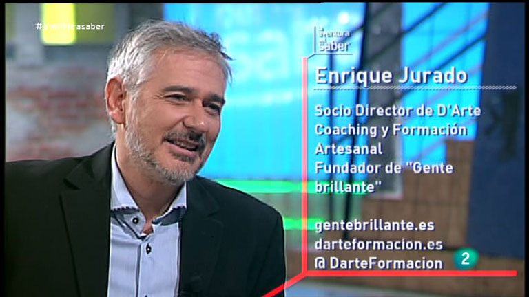 """La Aventura del Saber. Enrique Jurado, coach y Fundador de """"Gente brillante"""""""