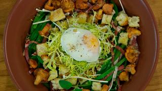 Torres en la cocina - Ensalada de judías con huevo