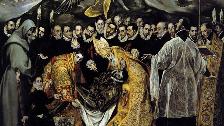 Mirar un cuadro - El entierro del Conde de Orgaz (El Greco)