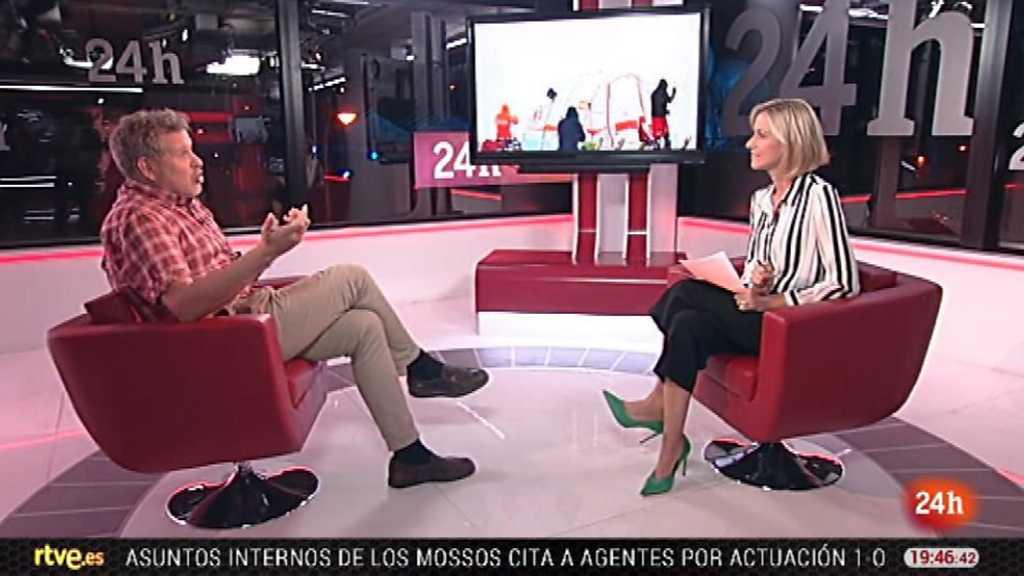 La tarde en 24 horas - Entrevista - 21/11/17