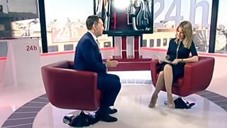 La tarde en 24 horas - Entrevista en 24 - 17/04/17
