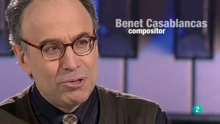 Programa de mano - Entrevista al compositor Benet Casablancas
