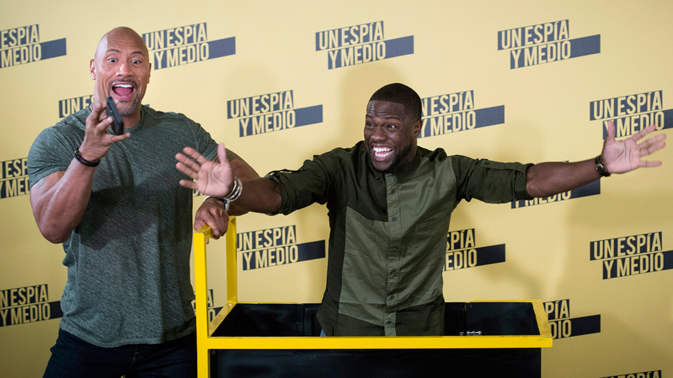 """Entrevista a Dwayne Johnson y Kevin Hart, el nuevo dúo cómico: """"En cuanto nos ves juntos, te ríes"""""""