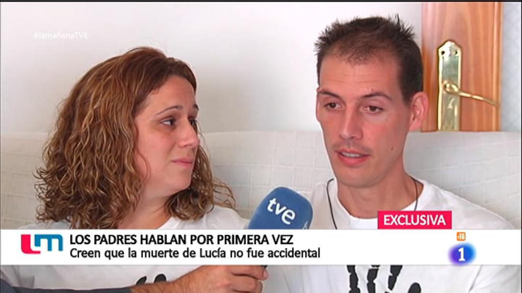 Entrevista exclusiva a los padres de Lucía