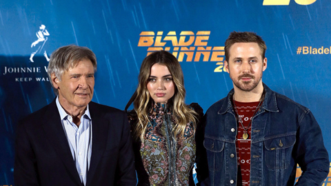 Entrevista con Harrison Ford y Ryan Gosling, protagonistas de 'Blade Runner 2049'