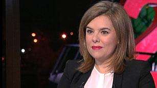 Soraya Sáenz de Santamaría critica los adelantos electorales en Andalucía y Cataluña