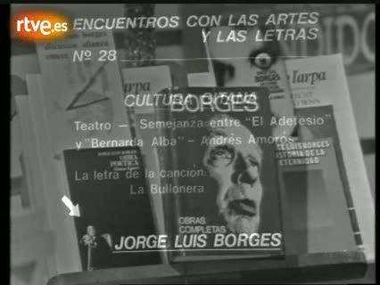 Encuentros con las artes y las letras - Jorge Luis Borges (1976)