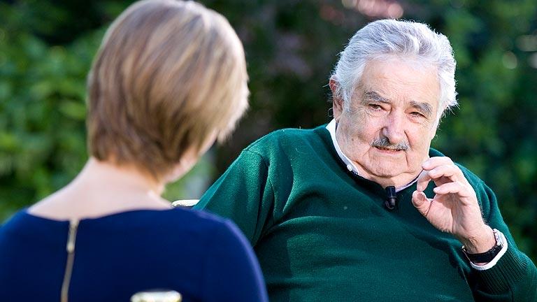Entrevista a Jose Mujica, presidente de Uruguay, en Los D
