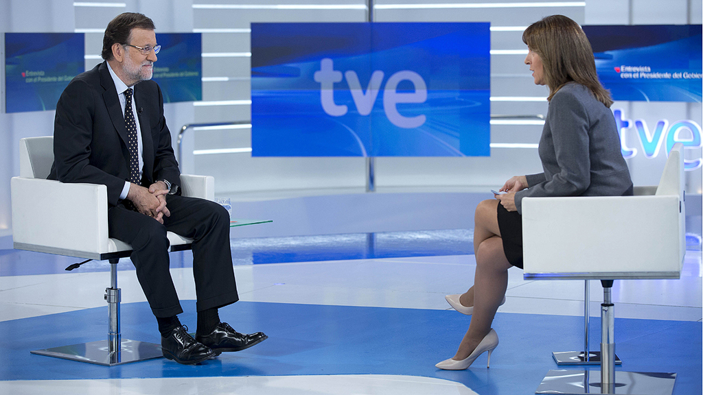Especial informativo - Entrevista a Mariano Rajoy en TVE