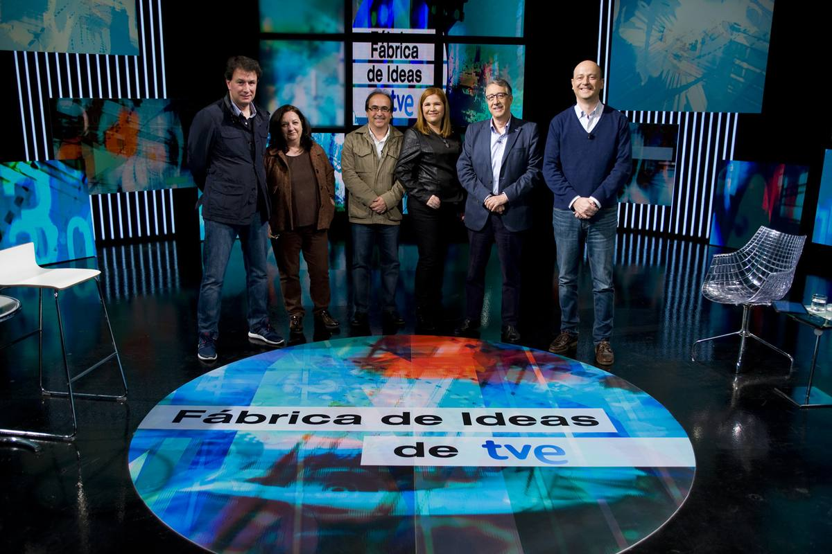 Equipo de 'Fábrica de Ideas': Daniel Manzano, Eva Montejano, Raúl de Andrés, Margarita G. de la Calle, Jesús Soria, y Alejandro Vesga