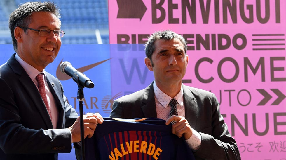 """Ernesto Valverde: """"Mi idea es dar una vuelta más al 'sello Barça'"""""""