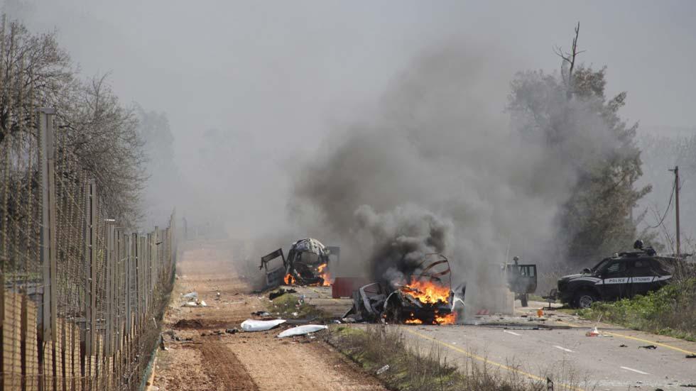 Mueren dos soldados israelíes y uno español en choques entre Hizbulá e Israel