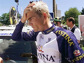 El escándalo Festina del Tour 98