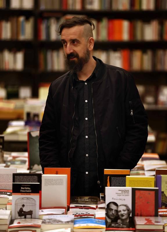 El escritor y traductor Javier Calvo (Barcelona, 1973).