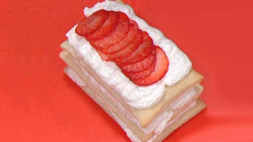 Escuela de pasteler a milhojas con merengue italiano for La cocina de sergio
