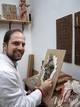 Fotogaleria: Alberto Pérez Rojas, escultor de imaginería religiosa