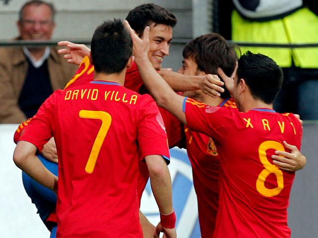 España 1-0 Corea del Sur