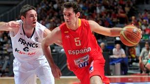 España apabulla  a una gris Francia (81-65)
