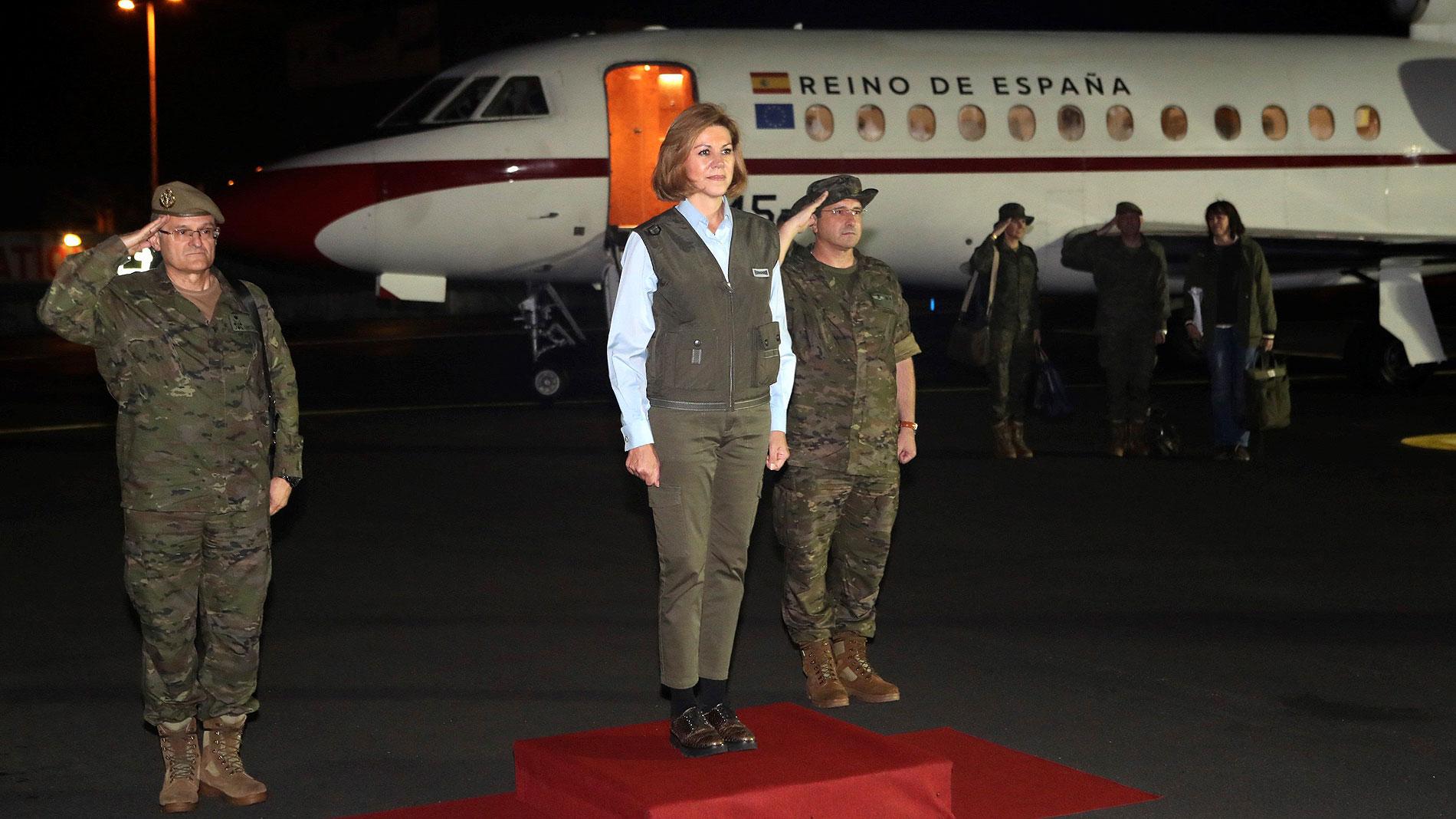Ir al VideoEspaña asume el mando de la misión internacional desplegada en Mali