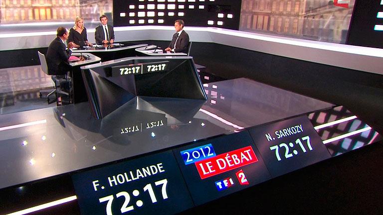 España protagoniza el debate entre Sarkozy y Hollande