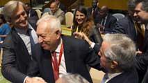 Ir al VideoEspaña consigue un puesto no permanente en el Consejo de Seguridad de la ONU
