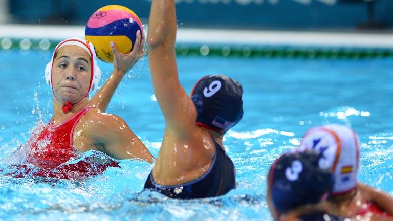 España empata ante EEUU en waterpolo femenino