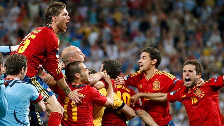 España, a la final de la Eurocopa 2012 tras ganar a Portugal en los penaltis