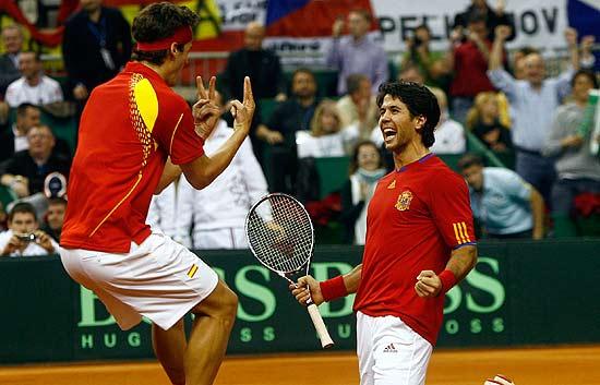 Verdasco y 'Feli' dan la Davis a España