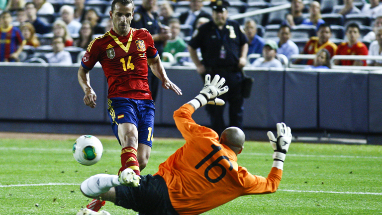 España gana a Irlanda antes de la Copa Confederaciones