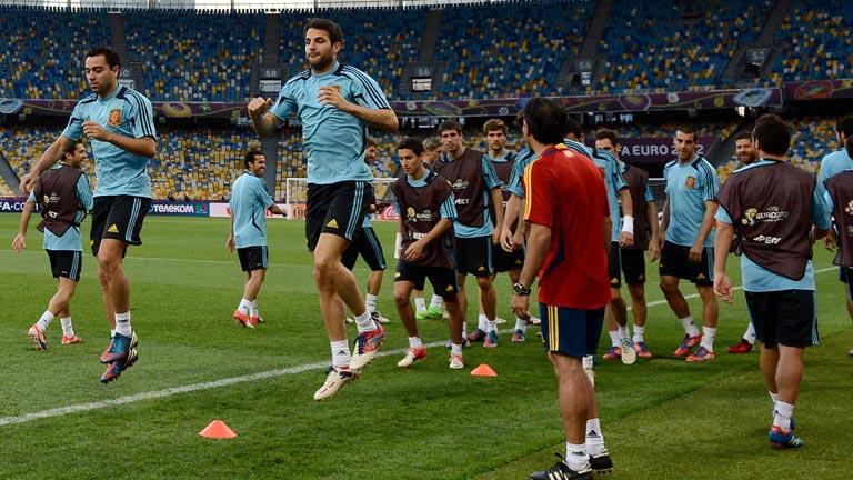 España, con ilusión y hambre de títulos ante la final de la Eurocopa