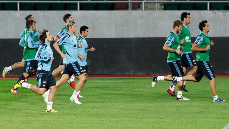 Una España invicta comienza su camino al Mundial 2014