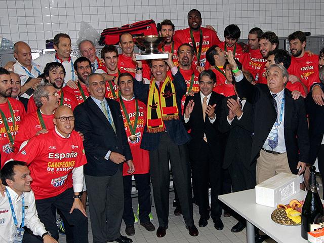 España revalida su corona en el Eurobasket