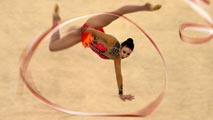 España se queda a las puertas de las medallas en gimnasia rítmica