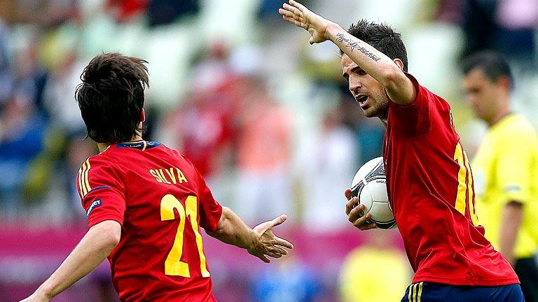 España se une para el siguiente partido de la Eurocopa 2012