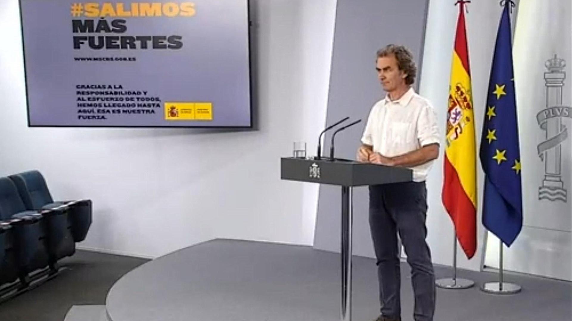 Especial informativo - Coronavirus. Comparecencia de Fernando Simón - 25/05/20
