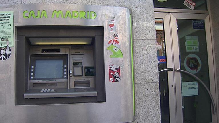 Espectacular atraco a una sucursal bancaria en madrid bajo for Bankia oficina internet entrar directo