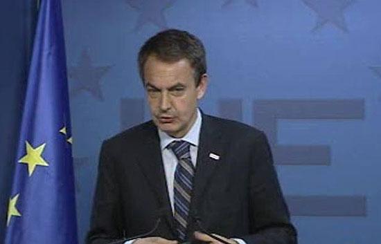 Zapatero confía desde Bruselas en una alta participación