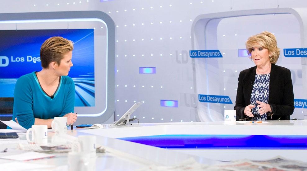 """Esperanza Aguirre, candidata del PP a la alcaldía de Madrid: """"No hay ningún imputado por corrupción en mis listas"""""""