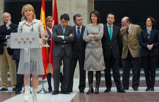 Esperanza Aguirre cuenta su huida de Bombay