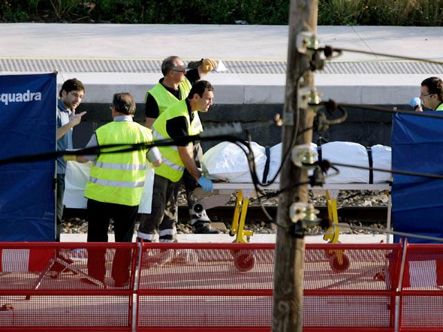 La estación de Castelldefels vive su primer fin de semana tras el accidente