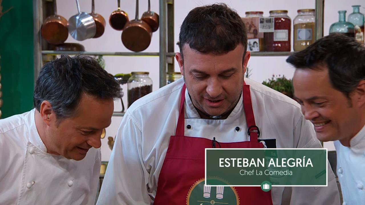 Esteban Alegría, chef de La Comedia