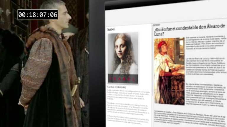 """Estreno en la 1 de  """"Isabel"""", la serie que recrea el reinado de Isabel la Católica"""
