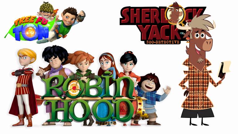 'Robin Hood. Travesuras en Sherwood' y 'Sherlock Yack ...