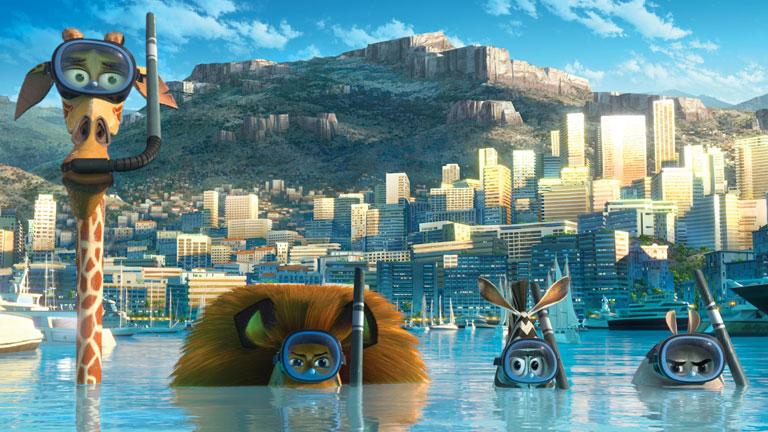 Madagascar 3, entre los estrenos de la semana
